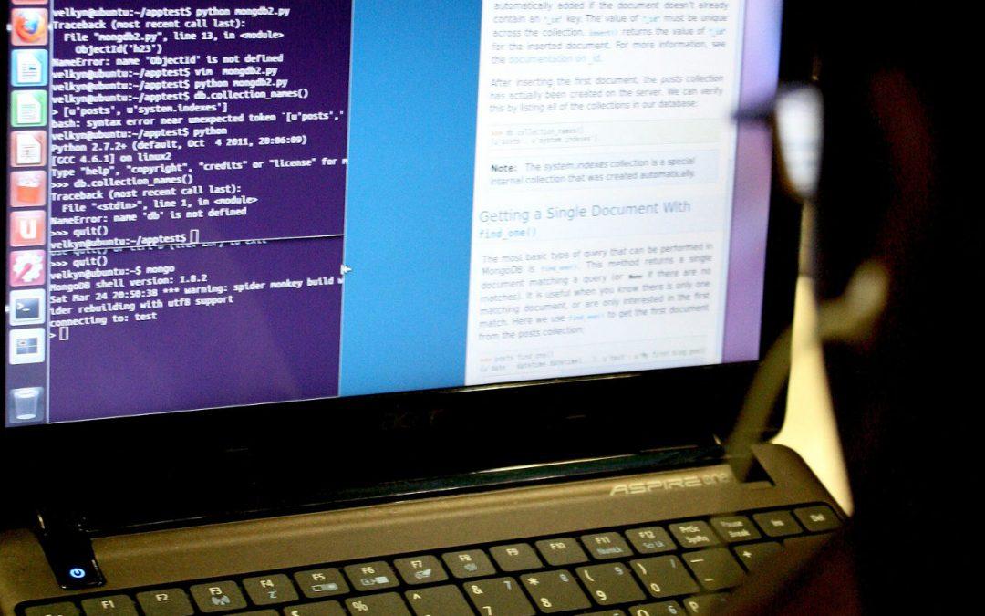 codeur au travail